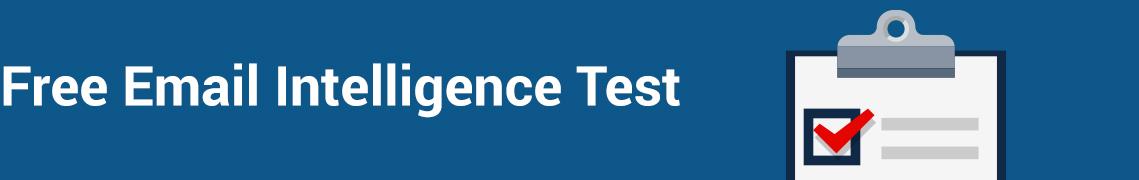 Free Email Intelligence Test